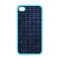 WOV1 BK-MRBL BL-STONE (R) Apple iPhone 4 Case (Color)