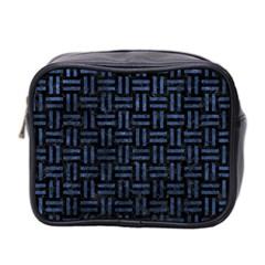 WOV1 BK-MRBL BL-STONE Mini Toiletries Bag 2-Side