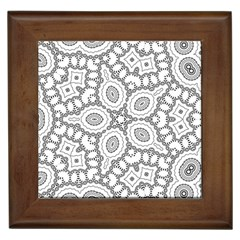 Scope Random Black White Framed Tiles