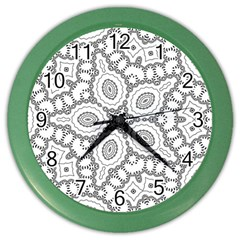 Scope Random Black White Color Wall Clocks