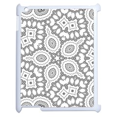 Scope Random Black White Apple iPad 2 Case (White)