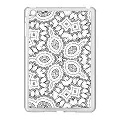 Scope Random Black White Apple iPad Mini Case (White)