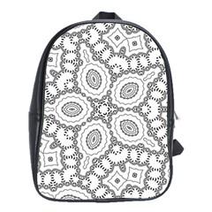Scope Random Black White School Bags (XL)