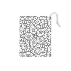 Scope Random Black White Drawstring Pouches (Small)
