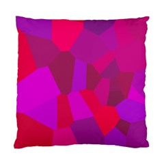 Voronoi Pink Purple Standard Cushion Case (One Side)