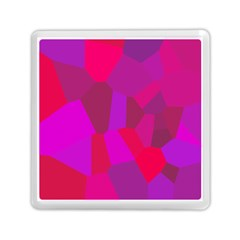 Voronoi Pink Purple Memory Card Reader (Square)