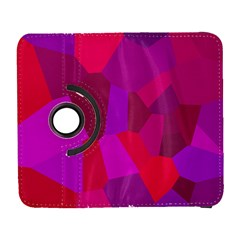 Voronoi Pink Purple Galaxy S3 (Flip/Folio)