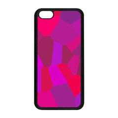 Voronoi Pink Purple Apple iPhone 5C Seamless Case (Black)