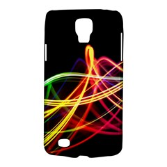 Vortex Rainbow Twisting Light Blurs Green Orange Green Pink Purple Galaxy S4 Active