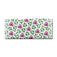 Rose Flower Pink Leaf Green Cosmetic Storage Cases