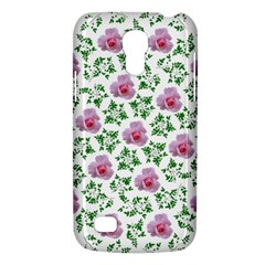 Rose Flower Pink Leaf Green Galaxy S4 Mini