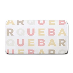 Alphabeth Rainbow Color Medium Bar Mats