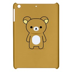 Bear Minimalist Animals Brown White Smile Face Apple iPad Mini Hardshell Case