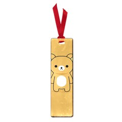 Bear Minimalist Animals Brown White Smile Face Small Book Marks
