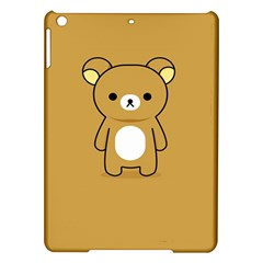 Bear Minimalist Animals Brown White Smile Face iPad Air Hardshell Cases