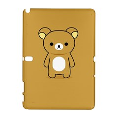 Bear Minimalist Animals Brown White Smile Face Galaxy Note 1