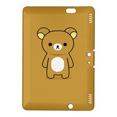 Bear Minimalist Animals Brown White Smile Face Kindle Fire Hdx 8 9  Hardshell Case