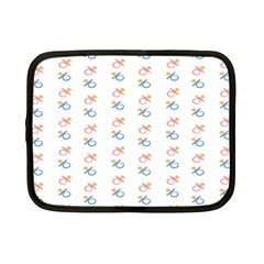 Baby Pacifier Pink Blue Brown Kids Netbook Case (Small)