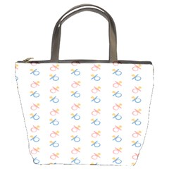 Baby Pacifier Pink Blue Brown Kids Bucket Bags