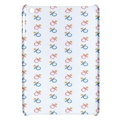 Baby Pacifier Pink Blue Brown Kids Apple iPad Mini Hardshell Case
