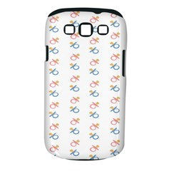 Baby Pacifier Pink Blue Brown Kids Samsung Galaxy S III Classic Hardshell Case (PC+Silicone)