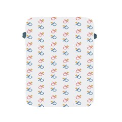 Baby Pacifier Pink Blue Brown Kids Apple iPad 2/3/4 Protective Soft Cases
