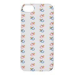 Baby Pacifier Pink Blue Brown Kids Apple iPhone 5S/ SE Hardshell Case