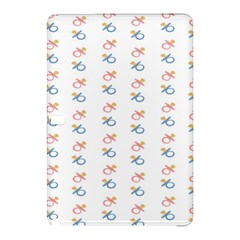 Baby Pacifier Pink Blue Brown Kids Samsung Galaxy Tab Pro 10.1 Hardshell Case