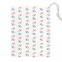 Baby Pacifier Pink Blue Brown Kids Drawstring Pouches (XXL)