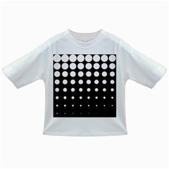 Circle Masks White Black Infant/toddler T Shirts