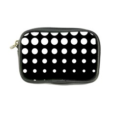 Circle Masks White Black Coin Purse