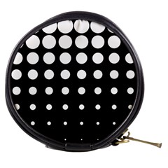Circle Masks White Black Mini Makeup Bags