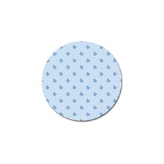 Blue Butterfly Line Animals Fly Golf Ball Marker (10 pack)
