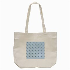 Blue Butterfly Line Animals Fly Tote Bag (Cream)