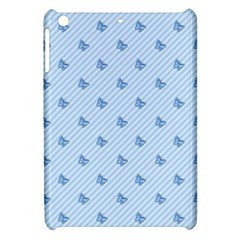 Blue Butterfly Line Animals Fly Apple Ipad Mini Hardshell Case