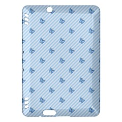 Blue Butterfly Line Animals Fly Kindle Fire HDX Hardshell Case