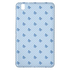 Blue Butterfly Line Animals Fly Samsung Galaxy Tab Pro 8.4 Hardshell Case