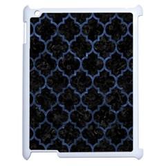 TIL1 BK-MRBL BL-STONE Apple iPad 2 Case (White)