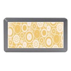 Wheels Star Gold Circle Yellow Memory Card Reader (Mini)