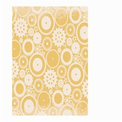 Wheels Star Gold Circle Yellow Small Garden Flag (Two Sides)