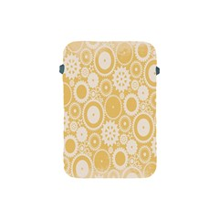 Wheels Star Gold Circle Yellow Apple iPad Mini Protective Soft Cases