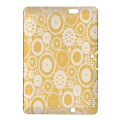 Wheels Star Gold Circle Yellow Kindle Fire HDX 8.9  Hardshell Case