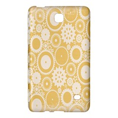 Wheels Star Gold Circle Yellow Samsung Galaxy Tab 4 (8 ) Hardshell Case