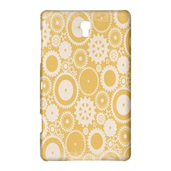 Wheels Star Gold Circle Yellow Samsung Galaxy Tab S (8.4 ) Hardshell Case