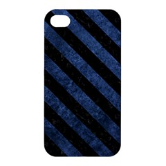 STR3 BK-MRBL BL-STONE (R) Apple iPhone 4/4S Hardshell Case
