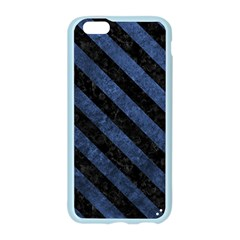 STR3 BK-MRBL BL-STONE (R) Apple Seamless iPhone 6/6S Case (Color)