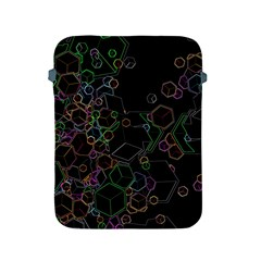 Boxs Black Background Pattern Apple iPad 2/3/4 Protective Soft Cases