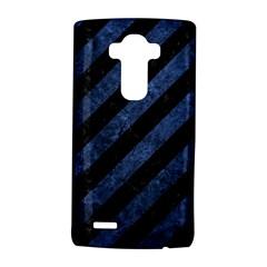 STR3 BK-MRBL BL-STONE LG G4 Hardshell Case