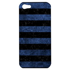 STR2 BK-MRBL BL-STONE Apple iPhone 5 Hardshell Case