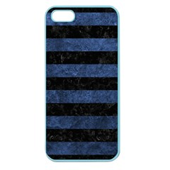 STR2 BK-MRBL BL-STONE Apple Seamless iPhone 5 Case (Color)